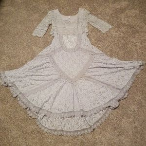 Lavender Lace Free People Dress